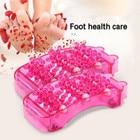 Stress Relief Dual Foot Massager Roller Relieve Plantar Fasciitis Acupressure/ Reflexology Tool Relieve Blood Circulation