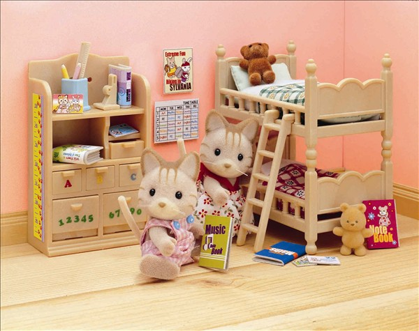 Great Original Sylvanian Family Of Childrenu0027s Bedroom Furniture Set Mini Size  Toys Child Toys Gift(China Nice Ideas