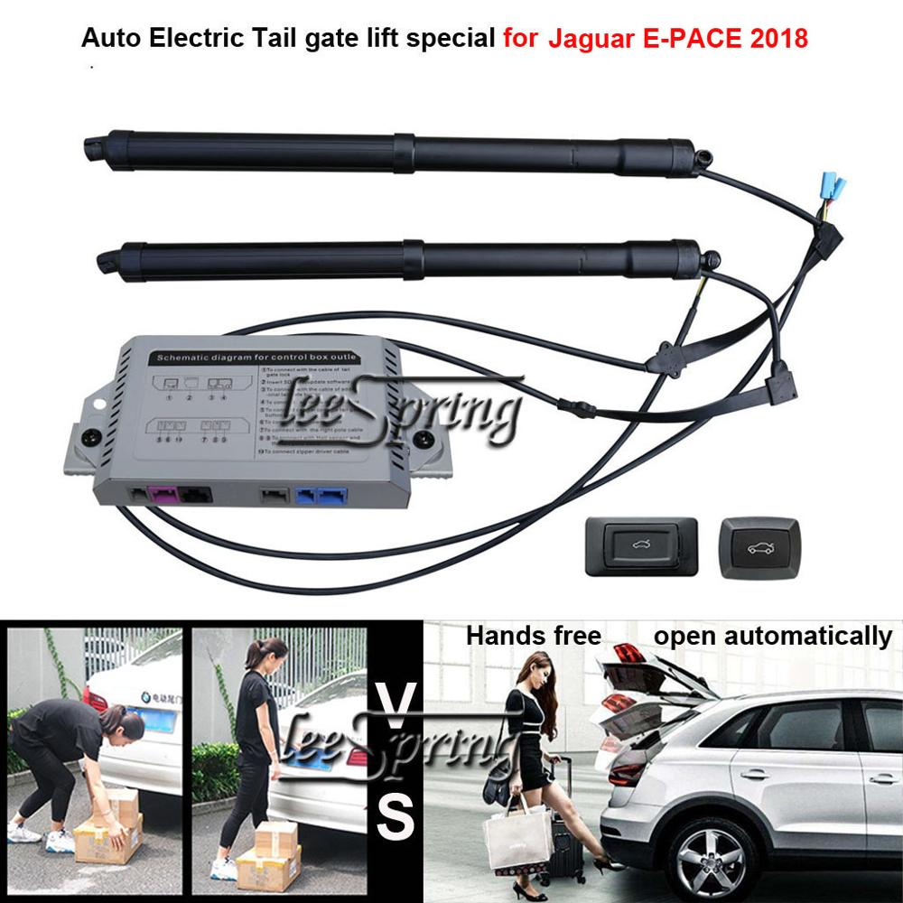 Car Electric Tail Gate Lift Special For Jaguar E-PACE 2018 With Latch Easily For You To Control Trunk