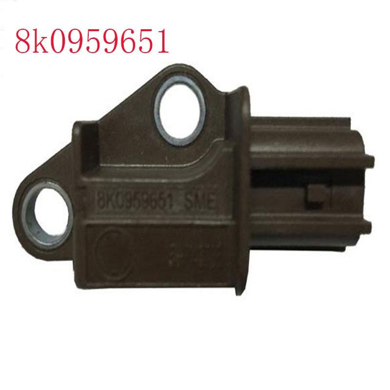 8k0959651 para Audi sensor de colisão segurança A4 B8 A4L A5 Q5 sensor de impacto 8k0 959 651
