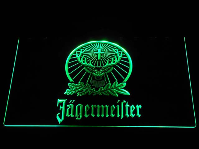 Jägermeister Deer LED Neon Logo