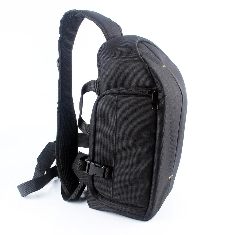 цена на DSLR Digital Sling Camera Bag Case Shoulder Bag Backpack For Sony Canon Nikon Pentax Olympus