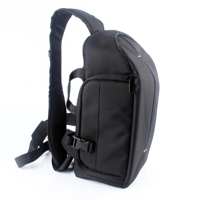 Dslr Digital Sling Camera Bag Case Shoulder Backpack For Sony Canon Nikon Pentax Olympus
