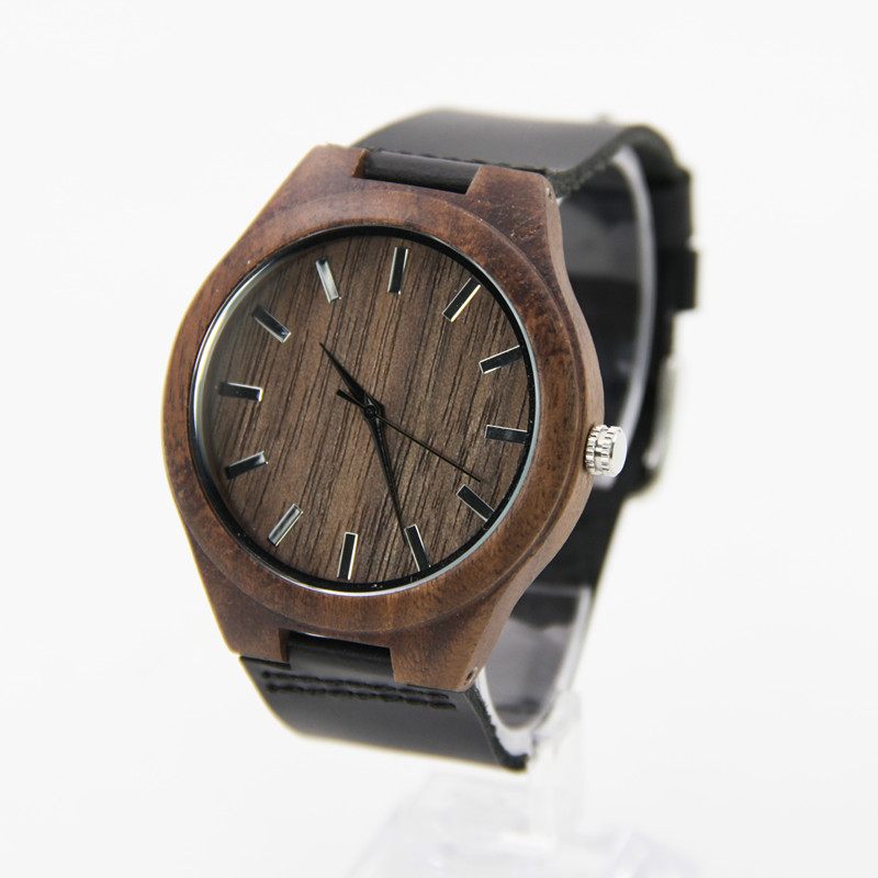 Newest Walnut font b Wooden b font font b Watches b font For Men and Women