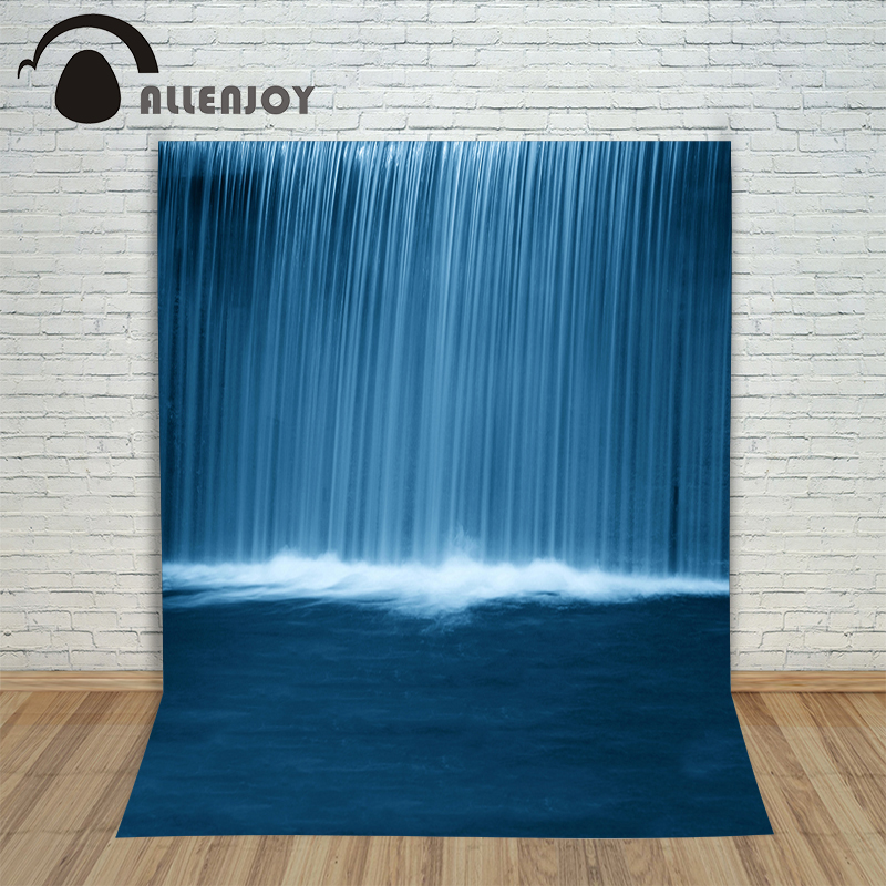 Photo background photography backdrop Waterfalls Water Nature newborn photographic picture for the studio 150cm 10ft 20ft romantic wedding backdrop f 894 fabric background idea wood floor digital photography backdrop for picture taking