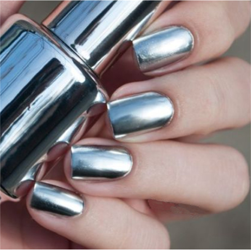 Lovely Easy Nail Art Videos Tiny What Nail Polish Lasts The Longest Rectangular Safe Nail Polish For Kids Remove Nail Polish From Nails Young Gel Nail Polish Kit With Led Light FreshPermanent Nail Polish Aliexpress.com : Buy 2 Bottles 15ml Silver Mirror Effect Metal ..