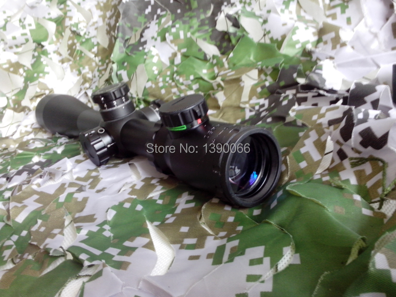 10-40x50 green & red dot laser sight Rifle Scope Hunting tactical laser collimator With Glass Cross Hair 3 10x42 red laser m9b tactical rifle scope red green mil dot reticle with side mounted red laser guaranteed 100%