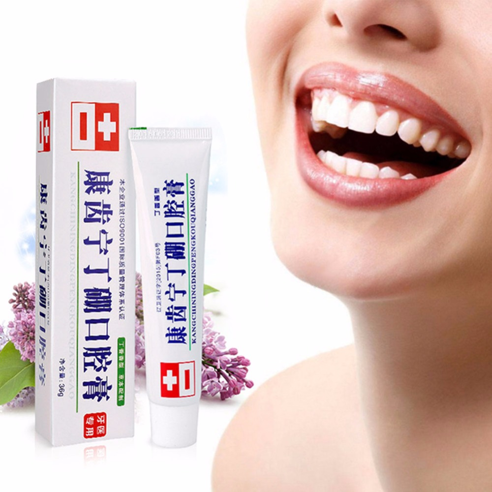 36g Mouth Cream Anti-inflammatory Analgesic Deodorant Fresh Mouth Gingo Jian Dental Care Special Toothpaste Bamboo Teeth Pro