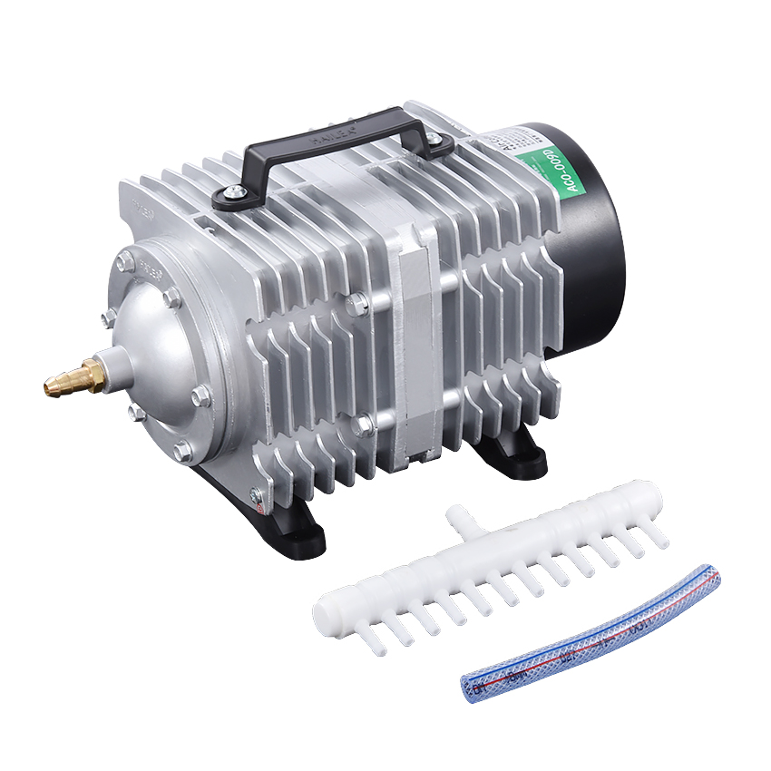 ACO-009D Oxygen fish tank air pump 120 /min 135W 220V AC Electromagnetic pond aerator bubble Aquarium air compressor