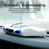 Professional Auto Aroma Diffuser Solar Air Purifier Freshener for Car Ionizer HEPA PM2.5 Eliminator