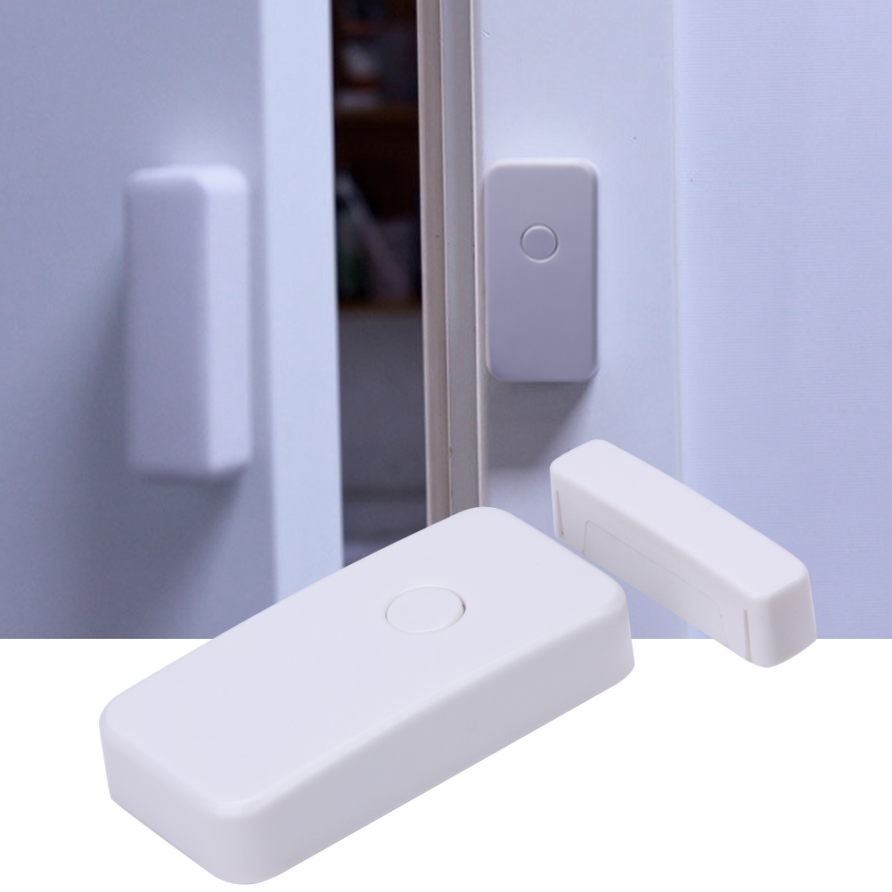 10pcs Home Security Wireless window/Door Magnetic Sensor Alarm Warning System Open Detector WL-19BWT #LO