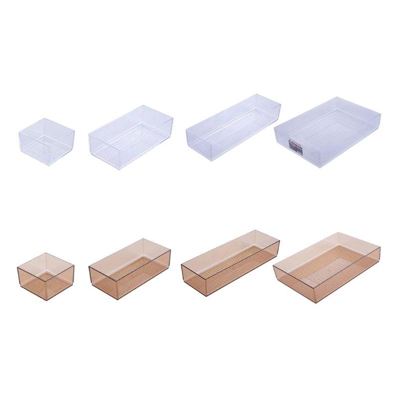 Plastic Drawer Insert Cutlery Utensils Tray Tableware Drawer Box Kitchen Accessories Storage Cosmetic Makeup Organizer drawer