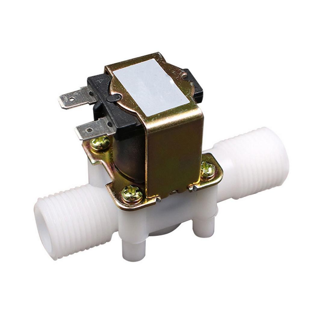 "DC 24V Solenoid Valve Magnetic N//C Water Air Inlet Flow Switch N//C 1//4/"" B WFIT"