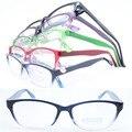 20 pcs muito atacado colorido 78223 de forma de duas cores caminhantes leve simples armações de óculos óptica