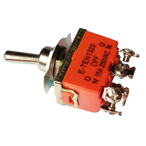 цена на E-TEN1322 double-pole double-throw button switch power shaking his head rocker switch toggle switch 6 feet 3 gear switch 10pcs