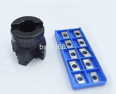 1pcs BAP400R 50 22 4T face end mill 10 APKT1604 aluminium carbide insert CNC milling