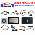 FGTech Galletto 4 Master FGTech V54 VD300 BDM-Tricore-OBD Function FG Tech ECU Programmer With Multi-langauge