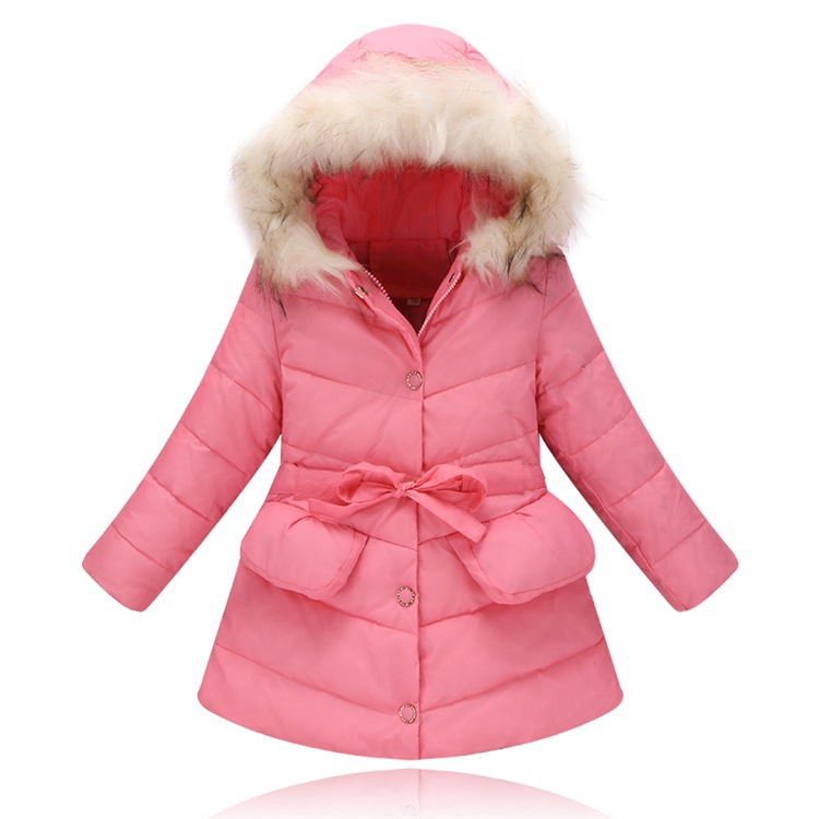 2017 New Girls Russian Winter Coat Down Feather Hooded Kids Winter Jacket for Girls Clothes Children Clothing Parkas Outerwear 2016 new classical 100% down kids winter jacket for girls made of goose feather hooded jacket boy parkas coat children