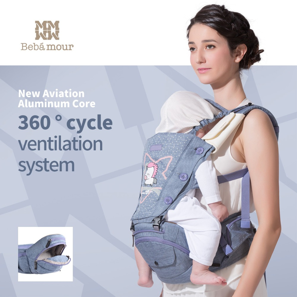 0-36 Months Ergonomic 360 Baby Carrier Cute Unicorn Multifunctional Babies Hipseat Toddler Backpack Portabebe Infant Sling 0 36 months ergonomic 360 baby carrier cute unicorn multifunctional babies hipseat toddler backpack portabebe infant sling
