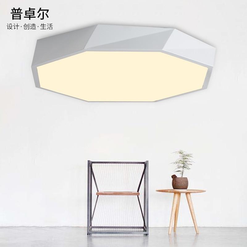 TUDA LED Ceiling Light Round Iron Ceiling Light Living Room Bedroom Room Restaurant Acrylic Ceiling Light 220V|Ceiling Lights| |  - title=