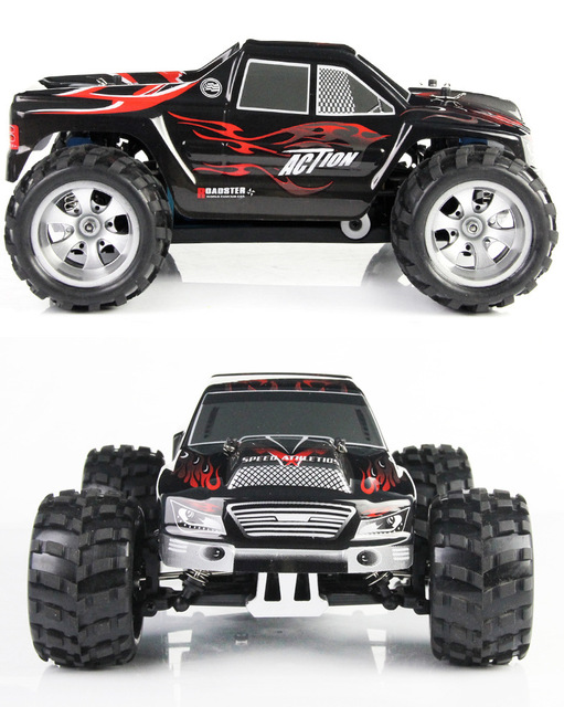 Wltoys A979 1/18 2.4GHz 4WD High Speed Monster 50Km/H Rc Racing Car With Transmitter RTR Remote Control Off-Road Vehicle 5