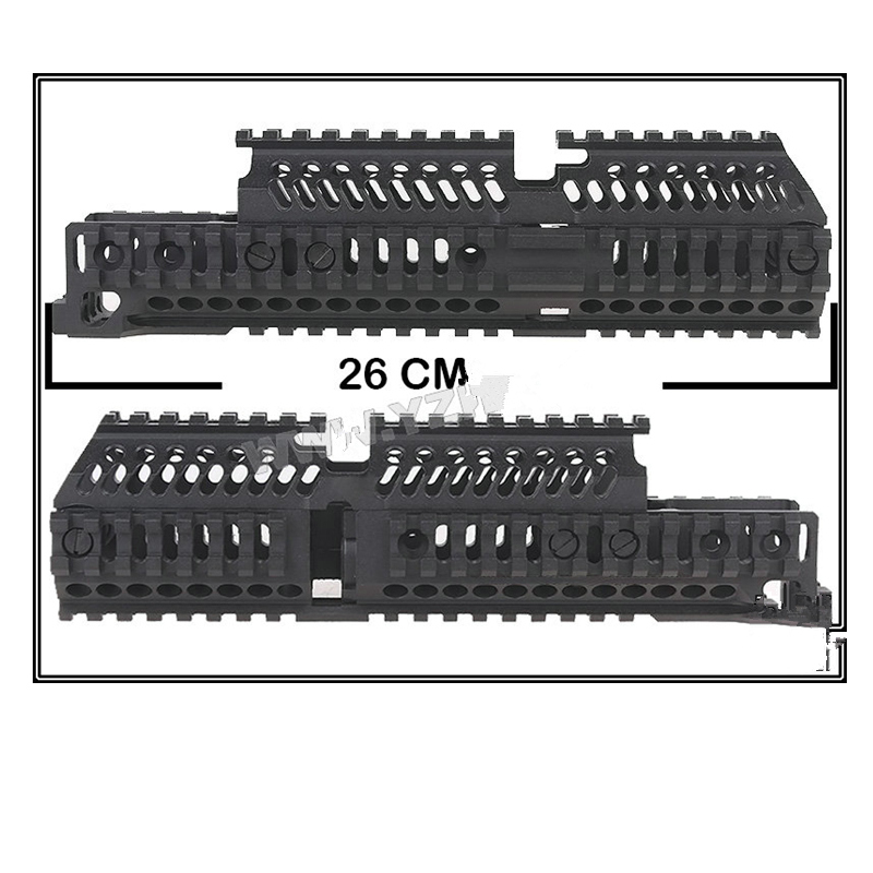 Model AK 47 tactical picatinny rail handguard system Aluminum alloy B30 B31 hunting Party Supplies