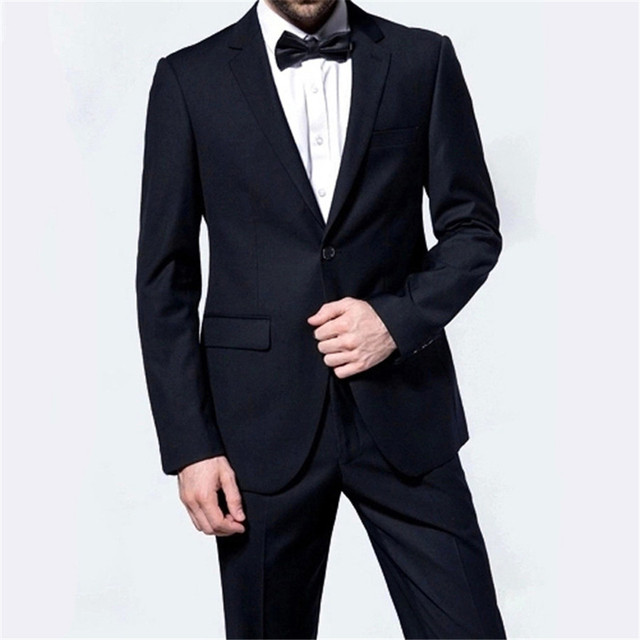 Men Business Blazers Suits Slim Full Sleeve Weeding Dress Professional Uniform Gentleman Fashion High-End Blazers(Tops+ Pants)