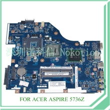 MB.TZZ02.001 PEW72 LA-6631P REV 1.0 MBTZZ02001 For acer aspire 5736z Motherboard GM45 DDR3 15.6""