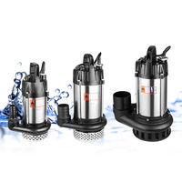 mini brushless dc pump for garden stainless steel brushless motor submersible water pump with internal controller brushless pump
