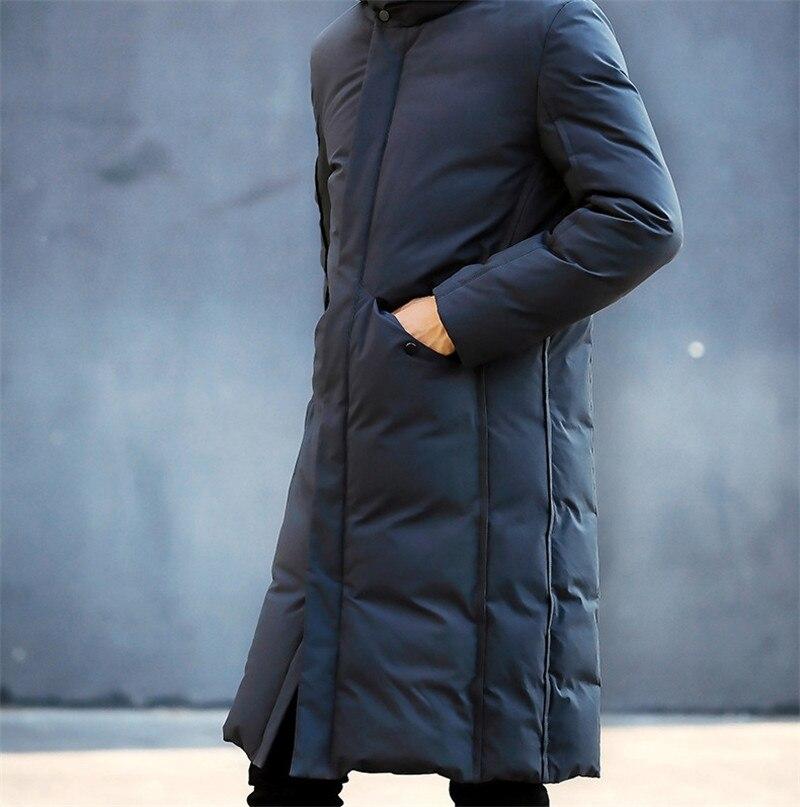 Лучший подарок, теплая куртка, зимняя, для кемпинга, черная, мужская, Толстая куртка, зарядка, одежда, китайская фабрика, размер M XXL - 6