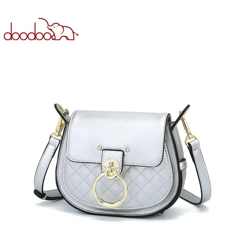 Doodoo New Summer Womens Handbag Fashion Luxury Ladies Shoulder Bag Design Messenger Bags Women Famous Brands