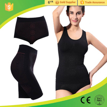 3 pieces nano far infrared magnetic therapy body shaper health care healthy slimming underwear