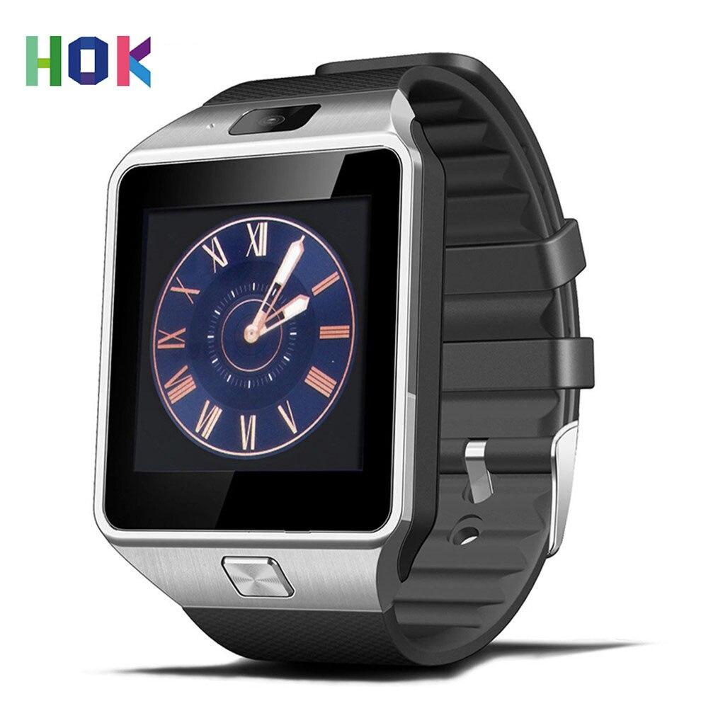 imágenes para Original DZ09 Reloj Inteligente Bluetooth Reloj Smartwatch Con Sim TF Tarjeta de La Cámara Para Android IOS Apoyo Whatsapp Facebook Ruso