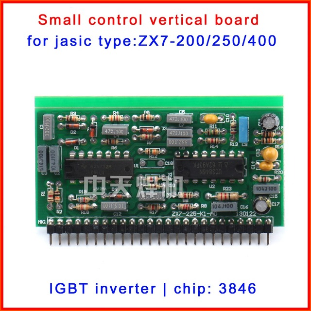 Small vertical plate for Single tube IGBT DC welding machine with 3846  control chips 200/