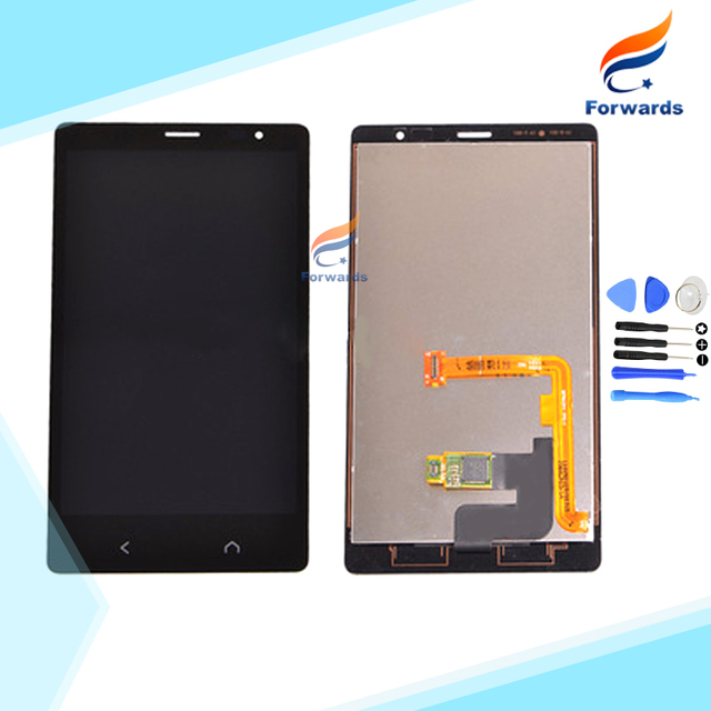 New Black replacement parts for Nokia X2 LCD Display with Touch Screen Digitizer + Tools assembly 4.3 inch 1 piece free shipping