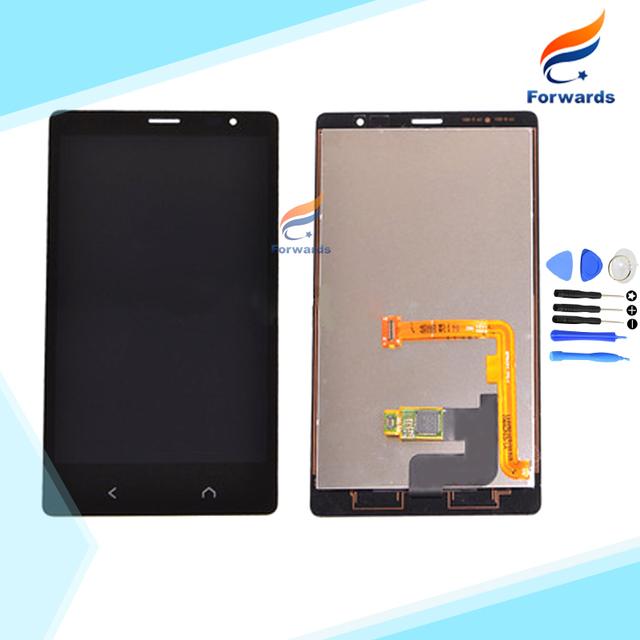 New black substituição de peças para nokia x2 display lcd com touch Digitador Da tela + Ferramentas conjunto de 4.3 polegada 1 peça frete grátis