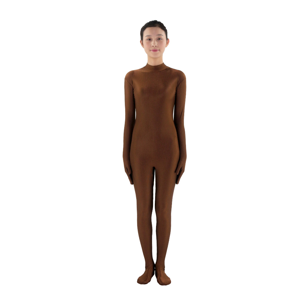 Body Suits for Women Long Sleeve round collar Unitard ...