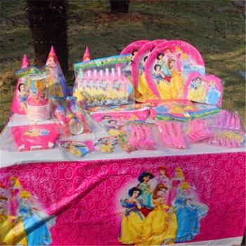 Online Shop 10pcs Princess Cup Birthday Decoration Theme Party
