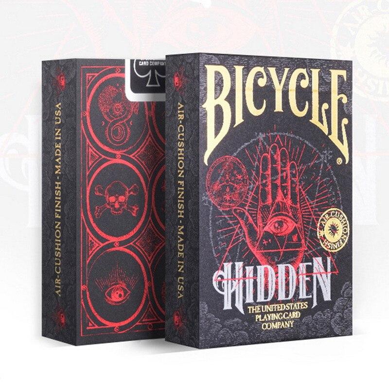 Bicicleta Escondida Baralho Deck Sociedades Secretas TRUQUES MÁGICA símbolos Novo