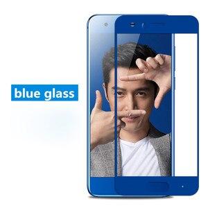 Image 3 - Huawei 社の名誉 9 ガラス強化 huawei 社の名誉 9 スクリーンプロテクターフルカバー 2.5D グレー huawei 社 honor9 ガラスフィルム 5.15