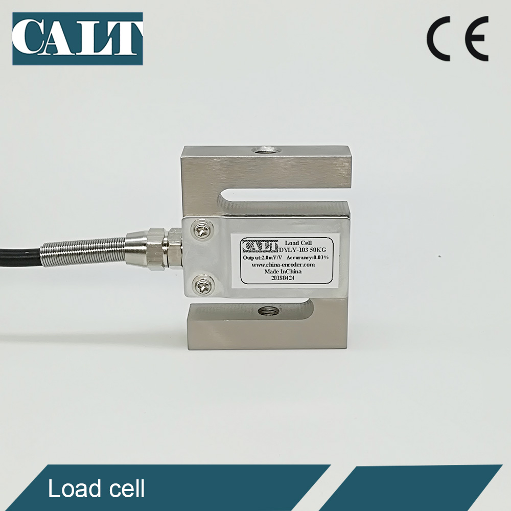 CALT 200kg S type mini load cell push pull weight sensor compression force sensor capacitiy DYLY-103 CALT 200kg S type mini load cell push pull weight sensor compression force sensor capacitiy DYLY-103