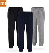 Xiaomi pantalones de chándal informales para hombre, pantalón de punto, transpirable, salvaje, para correr y Fitness