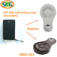 Free Shipping KEY SUB 44R Rolling Code Clone Garage Gate Door Open Remote Control Handsender Key