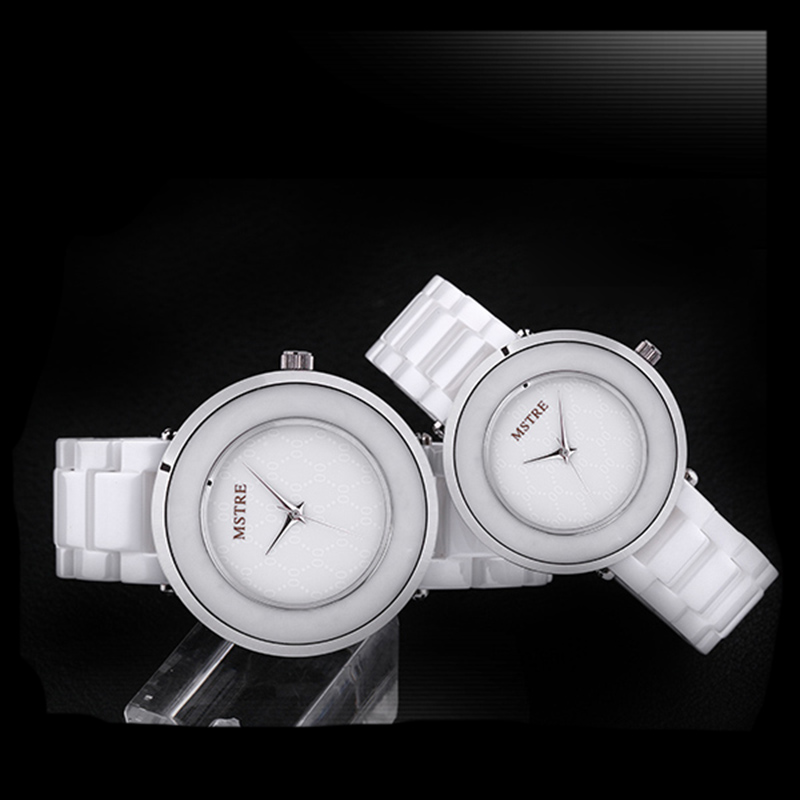 ? Lover's Quartz Watch Luxury Brand Watch Rectangle Mstre Fashion Casual Ceramic Quartz Waterproof Men Women watches 2018 цена и фото