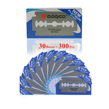 Dorco 300pcs Safety Razor Blades Stainless Steel To Shave Blade To Razor For Men Lames De Rasoir Barber Blade
