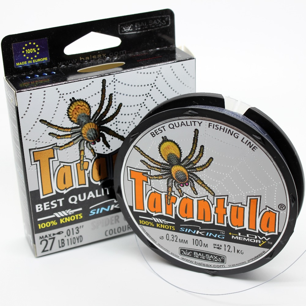 Balsax Tarantula branded fishing line/braid, 4lb-48lb super power sinking line for Freshwater & Saltwater image
