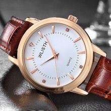 WLISTH in 2019 new watch fashion man waterproof quartz luxury brand men relogio masculino