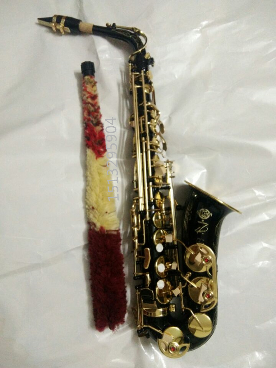 Alto Saxophone 2017 New High Quality Saxophone Alto Sax Selmer 54 Saxophone Musical Instruments Professional E-flat alto saxophone selmer 54 brass silver gold key e flat musical instruments saxophone with cleaning brush cloth gloves cork strap