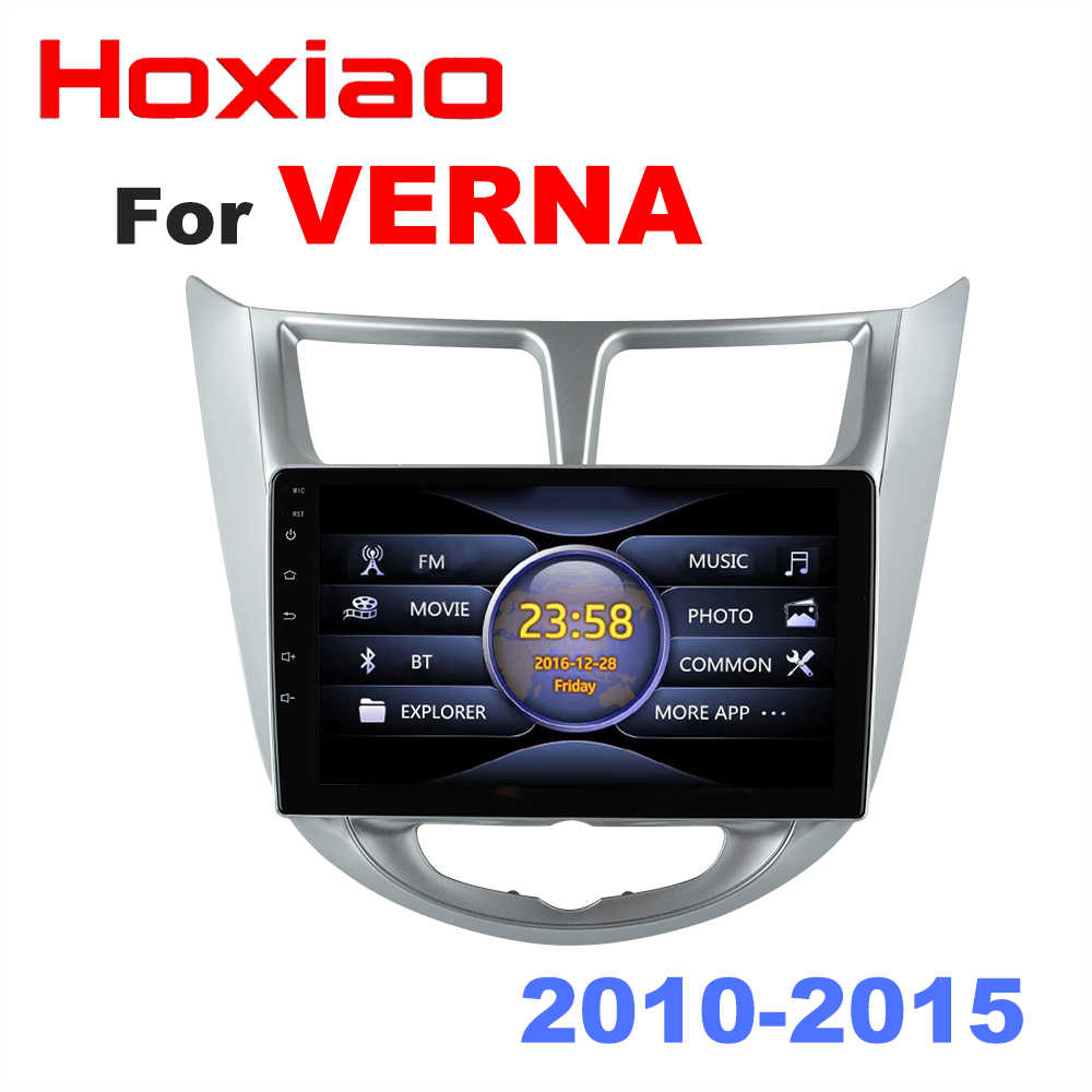 For Hyundai Verna Solaris Accent 2010 2011 2012 2013 2014 2015 Mirror Link No Android Car Radio Multimedia Video Player 2 DIN