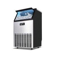 Jamielin 55 KG/68 KG/80 KG/24 stunden Eismaschine Kommerziellen Cube Ice Maker Business maschinen für Milch Tee Bar Kaffee shop